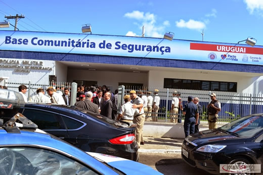 Base Comunitária do Uruguai é inaugurada com presença do Governador