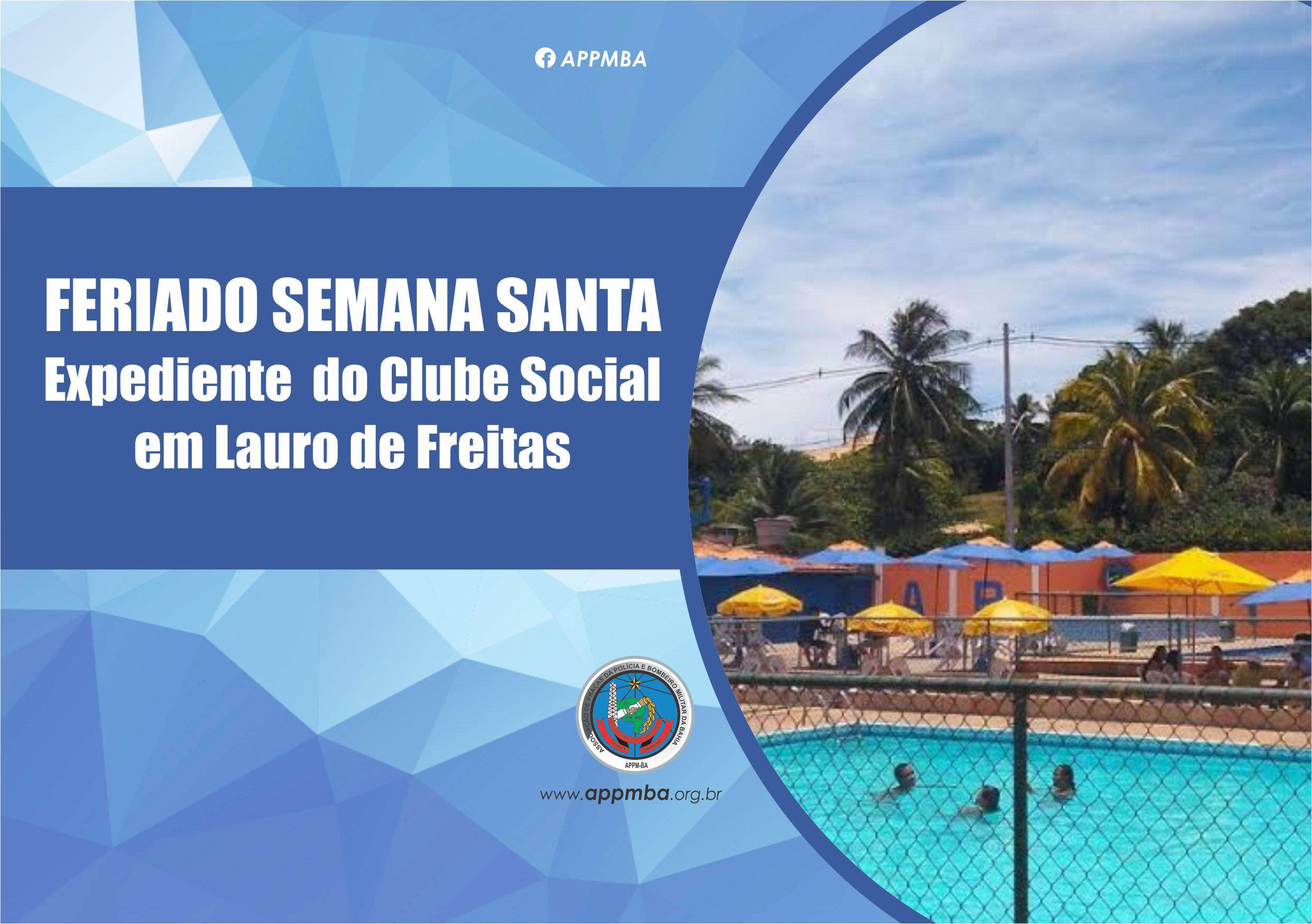 Expediente do Clube na Semana Santa 2017