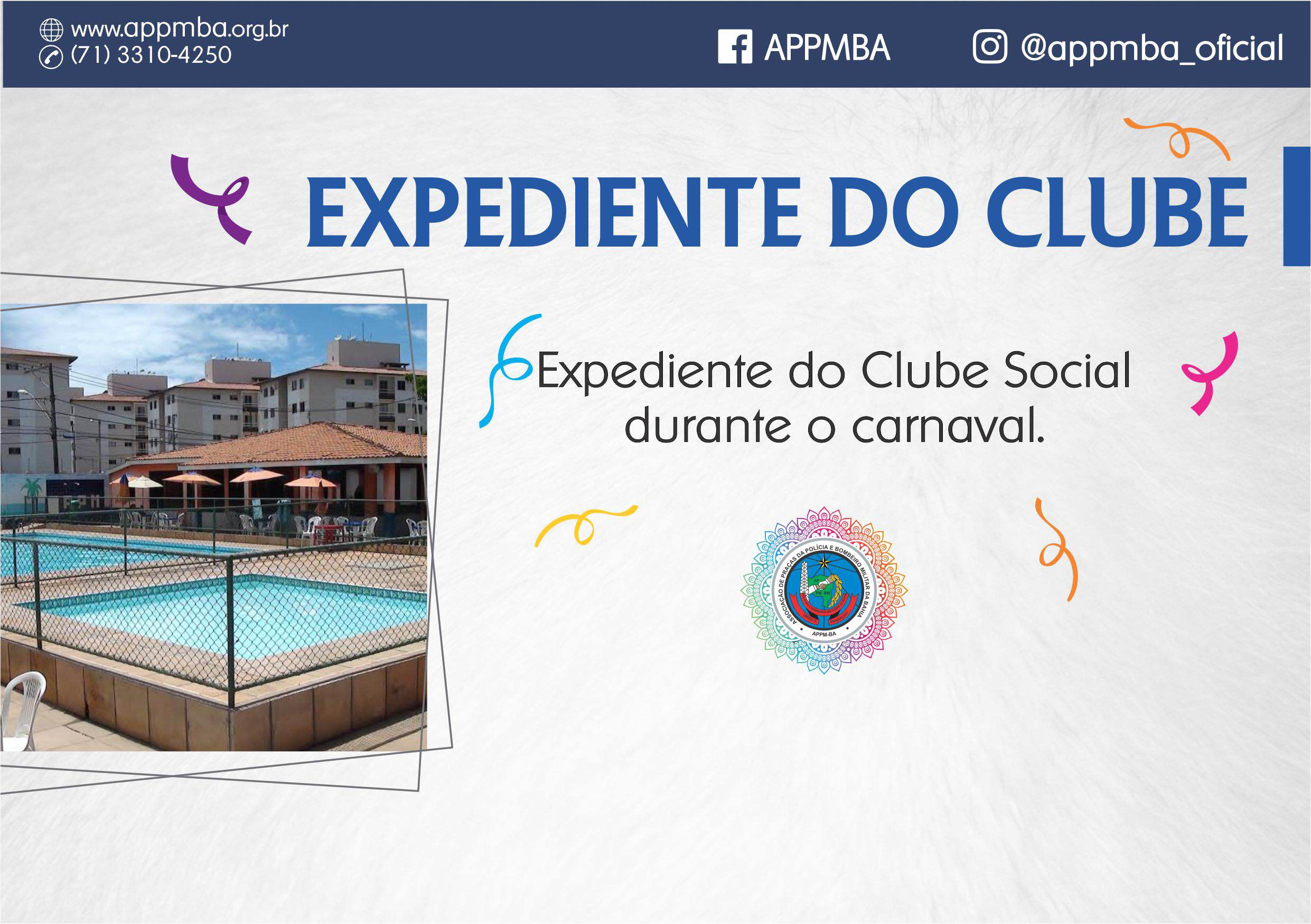 Expediente do Clube (Carnaval 2018)